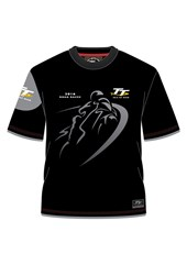 TT 2016 Shadow Bike Custom T- Shirt Black