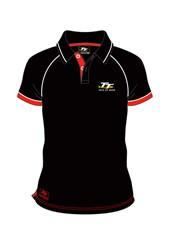 TT Black Polo Red Trim