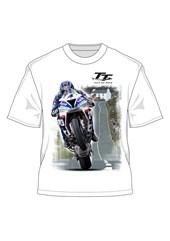 Ian Hutchinson Creg-ny-baa T-shirt White