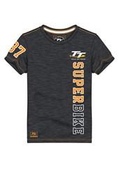 TT Superbike Vintage T-Shirt Black
