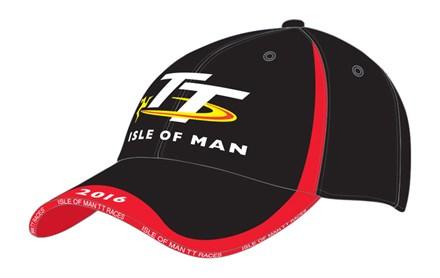 56a43d758ca28 Isle of Man TT Races cap - Black and Red   Isle of Man TT Shop