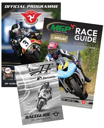 2016 IOM Festival of Motorcycling Programme, Race Card & Race Guide - click to enlarge