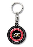 TT  Rubber Tyre Key Fob