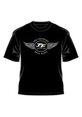 TT Logo Wings T-Shirt Black