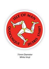 Three Legs of Man Sticker