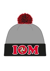 Childs Isle of Man Bobble Hat