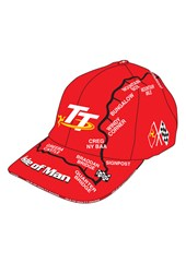 TT Childs Red Map Cap