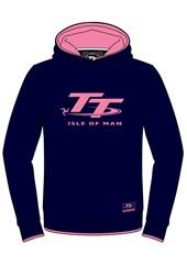 TT Hoodie Childs Navy/Pink
