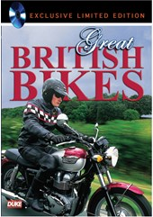 Great British Bikes DVD Limited Edition