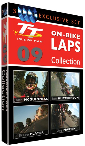 TT 2009 On-Bike Collection (3 Disc) DVD - click to enlarge