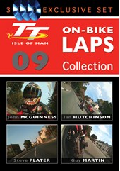 TT 2009 On-Bike Collection (3 Disc) NTSC DVD