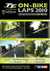 TT 2010 On Bike Laps Vol 1 DVD