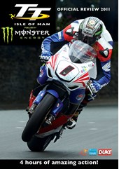 TT 2011 Review DVD signed by John McGuinness