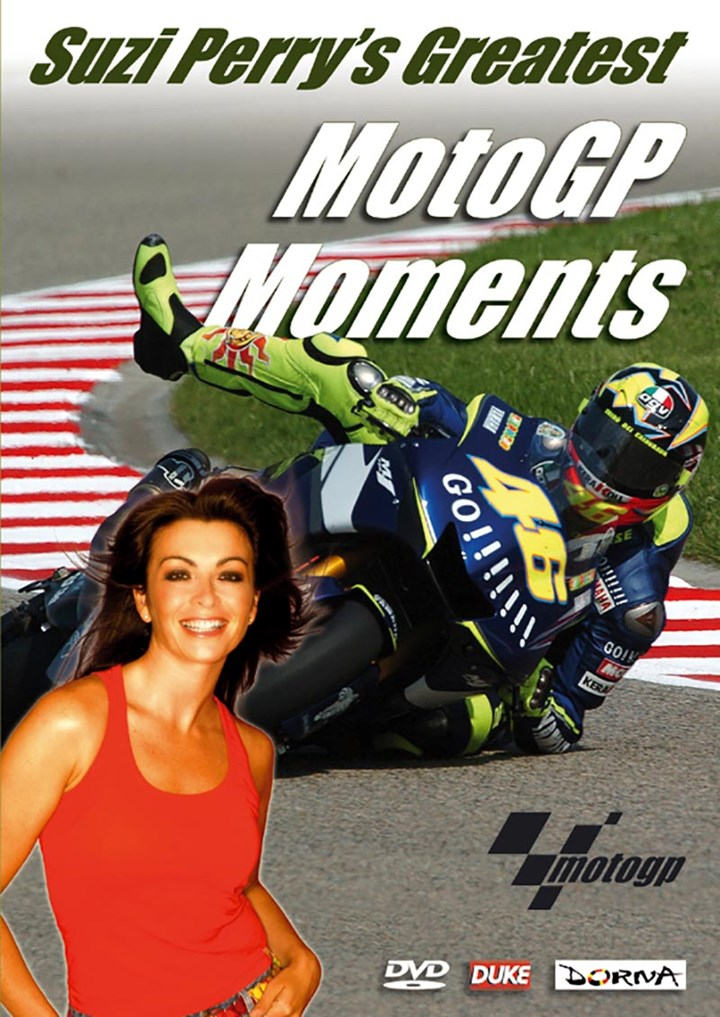 Suzi Perry's Greatest MotoGP Moments DVD