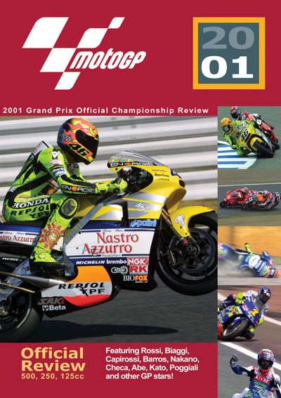 MotoGP 2001 Review  DVD