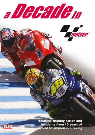 A Decade in MotoGP 2002-12 DVD - click to enlarge