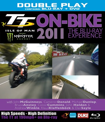 TT 2011 On Bike Blu-ray Experience incl standard NTSC DVD - click to enlarge