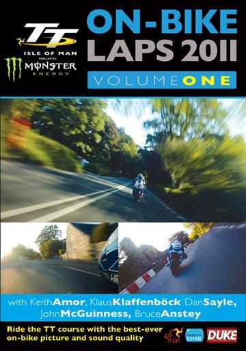 TT 2011 On Bike Laps Vol 1 DVD - click to enlarge