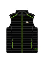 TT Bodywarmer Black/Green
