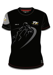 TT Shadow Bike Custom T-shirt Black