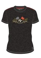 Isle of Man TT 1907-2017 Gold Bike Custom T-shirt Black