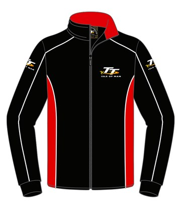 TT Fleece Black/Red - click to enlarge
