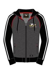 TT Zip Hoodie Grey/ Black
