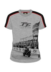 TT All Over Print T-Shirt Grandstand Grey