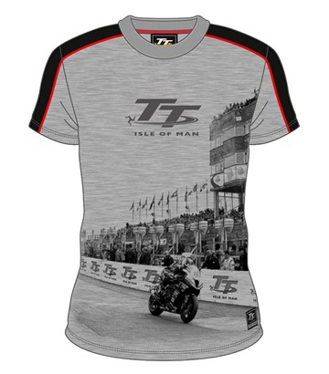 TT All Over Print T-Shirt Grandstand Grey - click to enlarge