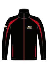 TT Soft Shell Jacket Black/Red