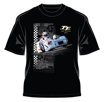 TT Sidecar Races T-shirt Black - click to enlarge