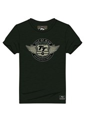 TT Vintage T-Shirt TT Wings Dark Green