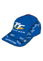 TT Map Cap Blue