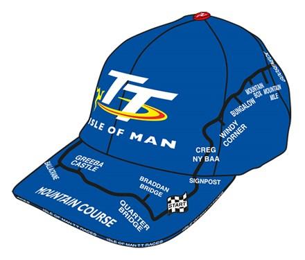 TT Map Cap Blue