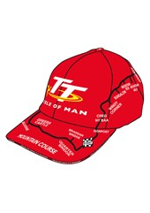 TT Map Cap Red