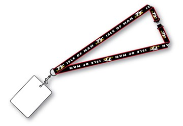 TT Lanyard Red Stripe - click to enlarge