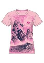 TT 2017 Ladies pink T-shirt