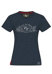 TT Ladies Vintage Silver Bikes T-shirt