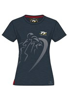 TT Ladies Vintage Shadow Bike T-Shirt