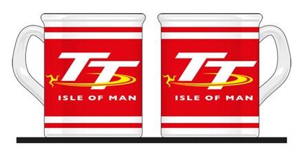 TT Mug Red/White