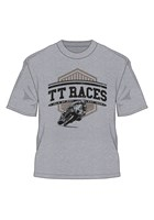 TT Races est 1907 Retro T-Shirt Grey