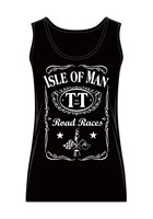 TT Ladies Vest Black