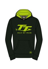 TT Childs Green and Fluorescent Hoodie