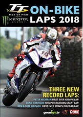 TT 2018 On Bike Laps DVD