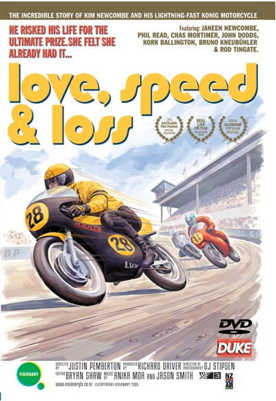 Love Speed and Loss (film) DVD