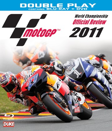MotoGP 2011 Review Blu-ray incl Standard Pal DVD - click to enlarge