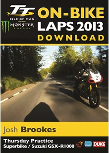 TT 2013 On Bike Lap Josh Brookes Download