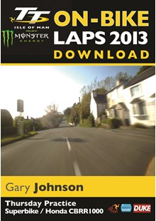 TT 2013 On Bike Lap Gary Johnson Download