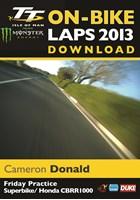 TT 2013 On Bike Lap Cameron Donald Friday Practice Download