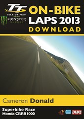 TT 2013 On Bike Lap Cameron Donald Superbike Race Download
